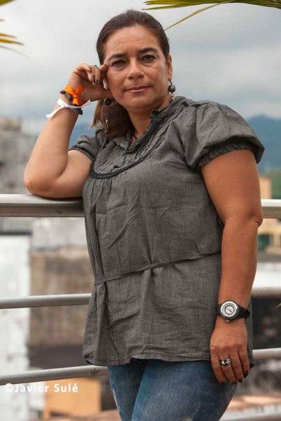 Doris Rivera, líder social de la Región del Meta. Foto: Javier Sulé