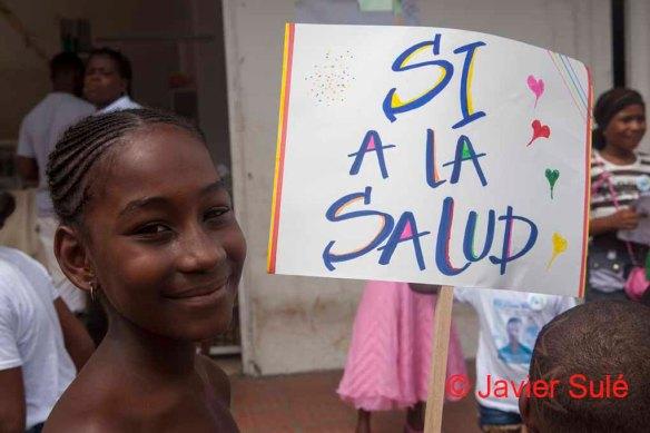 La salud es un derecho vulnerado en Buenaventura. Foto: Javier Sulé